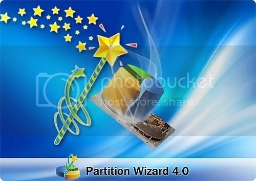 Partition Wizard Home Edition 5.0 - Bootable CD