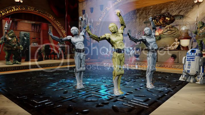 Kinect Star Wars dance C3PO